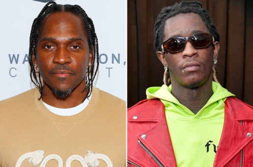 Pusha-T & Young Thug Beef Over Leaked Track On Pop Smoke's Album!