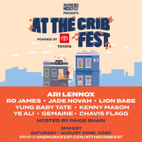 unnamed-11-500x500 ONE Musicfest Presents #AtTheCribFest Powered by Toyota on 8/22!