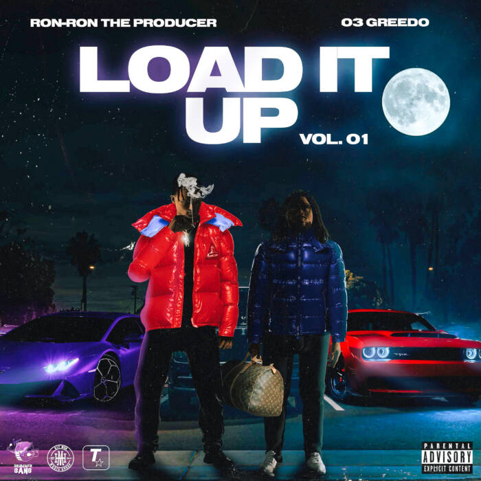 unnamed-25 03 Greedo & Ron-Ron's album Load It Up, Vol. 01, ft. Chief Keef, Sada Baby, more