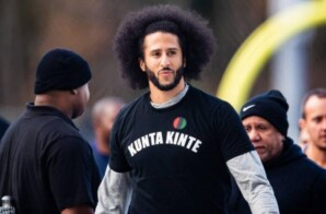 COLIN KAEPERNICK CRITICIZES THE NFL FOR BLACKBALLING ERIC REID