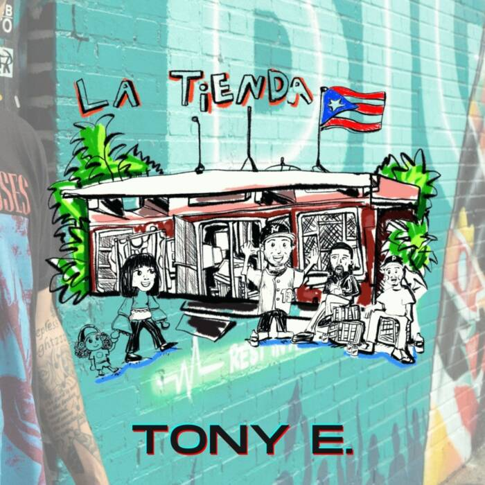 "ILLUSTRATED-1 Tony E Takes On Pride, Mental Health & Hector Camacho on ""La Tienda"" (EP)"