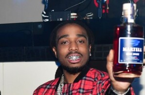 QUAVO SHUNS HENNESSY, CLAIMING BRAND DOESN'T SUPPORT BLACK PEOPLE