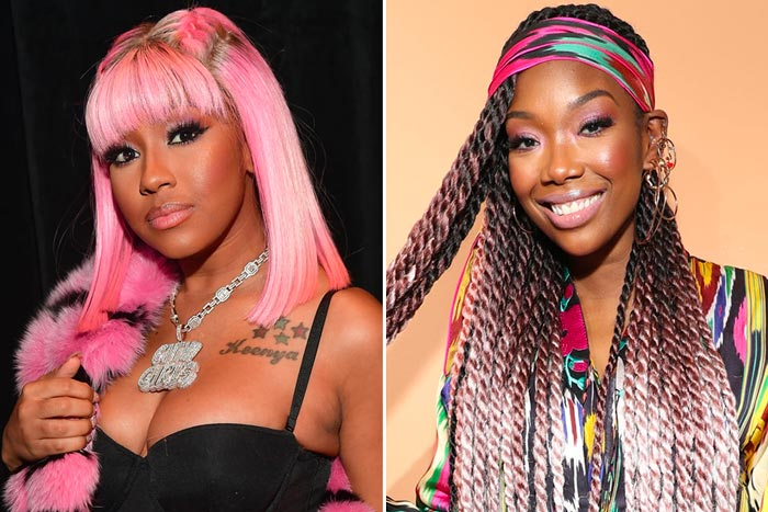 caresha-city-girls-brandy Yung Miami Throws Shade At Brandy Over Verzuz w/ Monica!