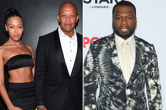 truly-young-dr-dre-50-cent Dr. Dre's Daughter Puts 50 Cent On Blast!