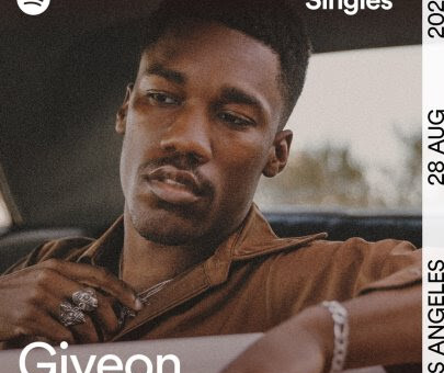 "GIVEON DEBUTS INAUGURAL ARE & BE SPOTIFY SINGLES ""LIKE I WANT YOU"" & ""UNTITLED (HOW DOES IT FEEL)"" (D'ANGELO COVER)!"