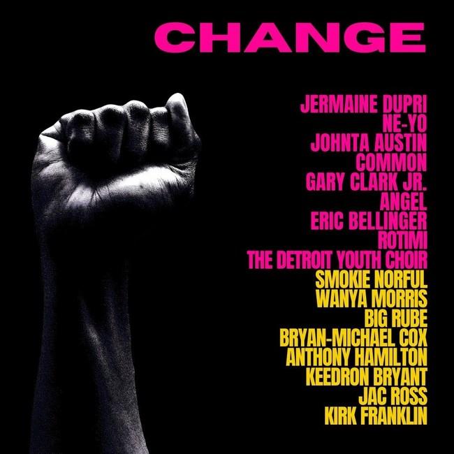 "CHANGE1 Jermaine Dupri Joins Ne-Yo, Common, Eric Bellinger, Rotimi, Kirk Franklin & More on ""Change"" to Benefit the Social Change Fund!"