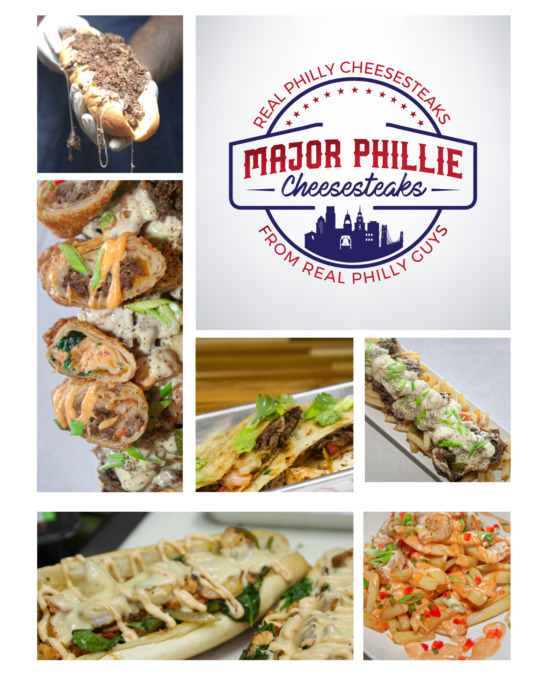Major-Phillie-Collage October 2020, Major Phillie Cheesesteaks is the only place to get a taste of Philly