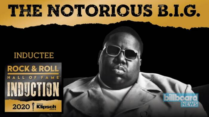 image The Notorious B.I.G. Officially Inducted Into Rock & Roll Hall of Fame! (Video)