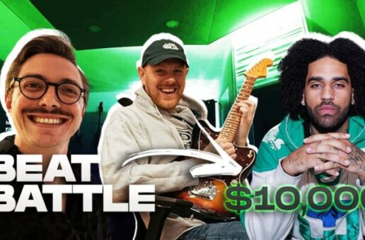 KENNY BEATS and MIXEDBYALI – $10,000 BEAT BATTLE FINAL with MARC REBILLET
