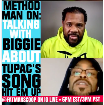 "Fatman-Scoop_Method-Man Method Man Shares His Thoughts on Tupac's ""Hit Em Up"" on Fatman Scoop TV (Video)"