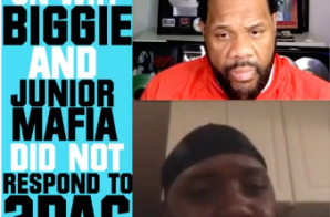 "Lil Cease Reveals Why Biggie Never Responded to Tupac's ""Hit'Em Up"" on Fatman Scoop TV (Video)"