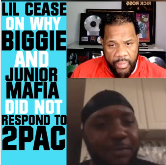 "Lil-Cease_Scoop Lil Cease Reveals Why Biggie Never Responded to Tupac's ""Hit'Em Up"" on Fatman Scoop TV (Video)"
