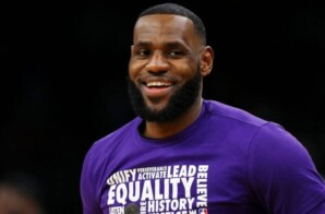 LEBRON JAMES CHOSEN TO BE TIME'S ATHLETE OF THE YEAR