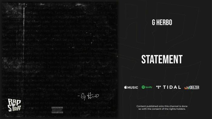 "maxresdefault-6 G Herbo Stamps His Innocence In New Single ""Statement"""