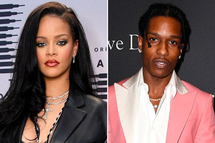 rihanna-rocky Dating Rumors: Rihanna & A$AP Rocky Spotted Together!