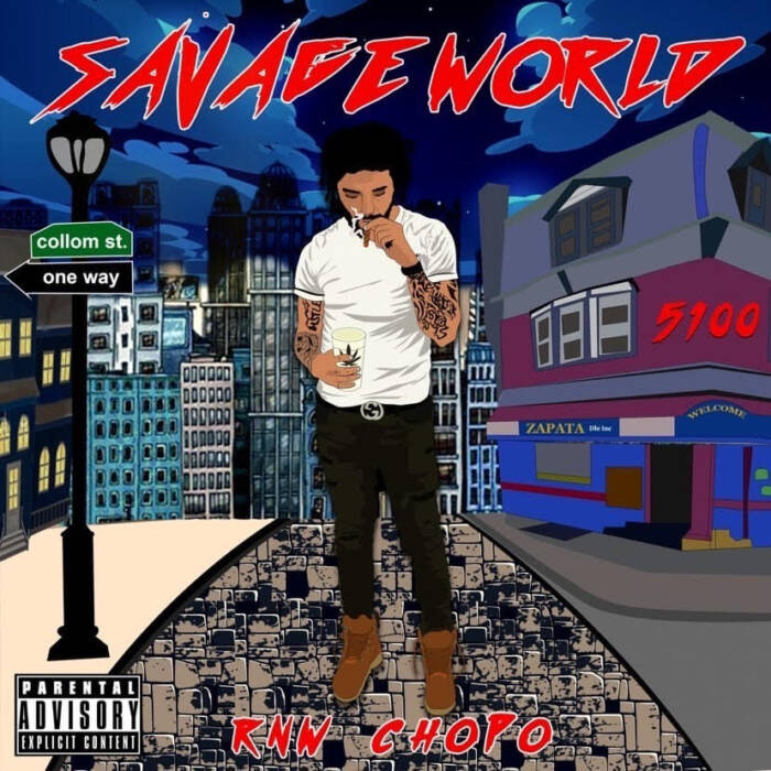 """unnamed-18 Upcoming Philadelphia Rapper RNW Chopo Releases EP """"Savage World"""""""