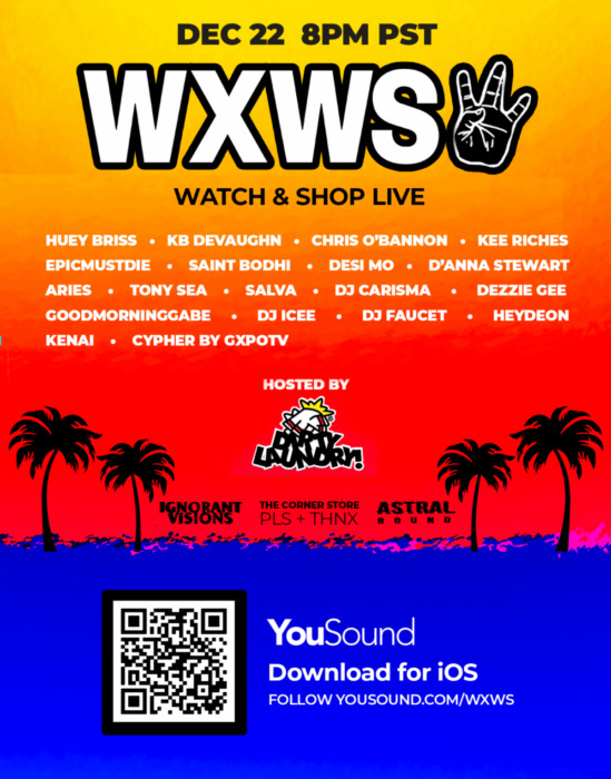 unnamed-4-3 DJ Carisma, DJ Salva & Gabe C. Join Together for WXWS Festival Free Live Stream on YouSound on Tuesday, Dec. 22 at 8 p.m. PST