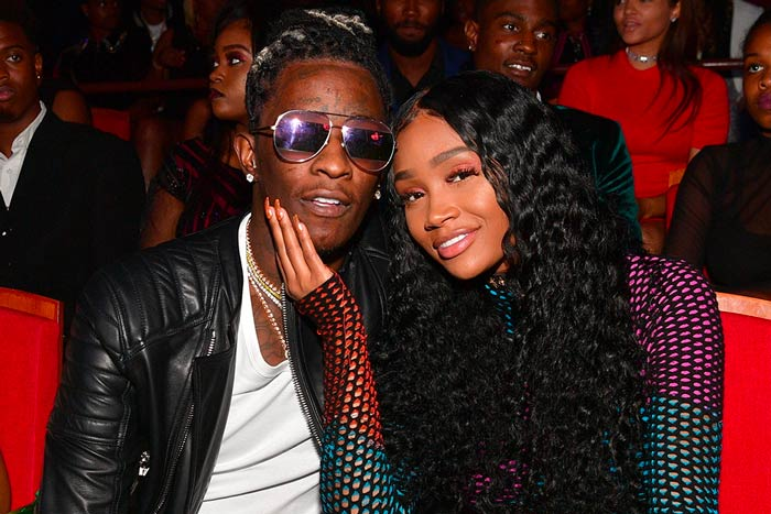 """young-thug-jerrika-karlae Young Thug's Girlfriend Puts Rapper On Blast, Calls Him The """"Devil"""""""