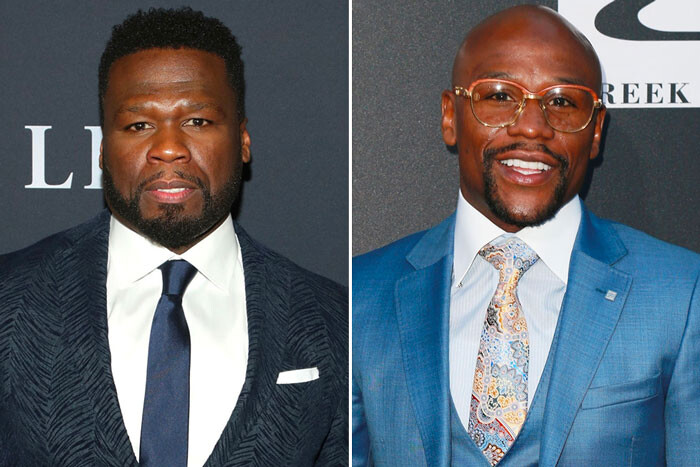50-cent-floyd-mayweather 50 Cent Wants to Fight Floyd Mayweather!