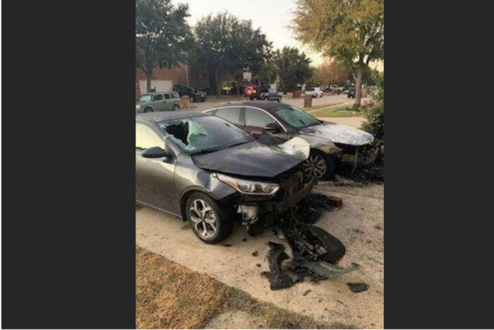 image26-1 Vehicles of Black family set on fire, in what is being seen as hate crime