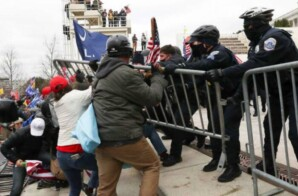 TRUMP SUPPORTERS WHO STORMED CAPITOL AND ATTACKED COPS WERE IN THOUSANDS