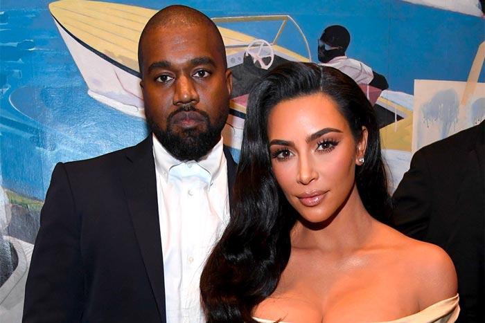 kanye-west-kim-kardashian Are Kanye West &Kim Kardashian Getting a Divorce?!