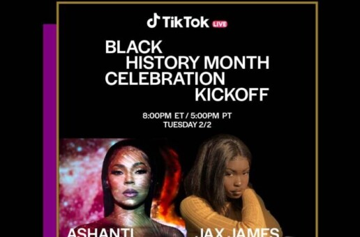Ashanti Kicks Off TikTok's Black History Month Celebration