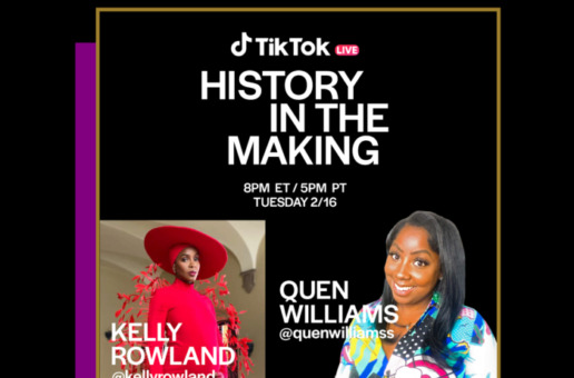 TONIGHT: Kelly Rowland Celebrates her Legacy for TikTok's #MakeBlackHistory