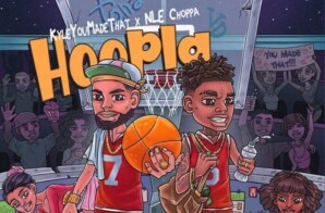 "NLE Choppa joins producer KyleYouMadeThat for ""Hoopla"""