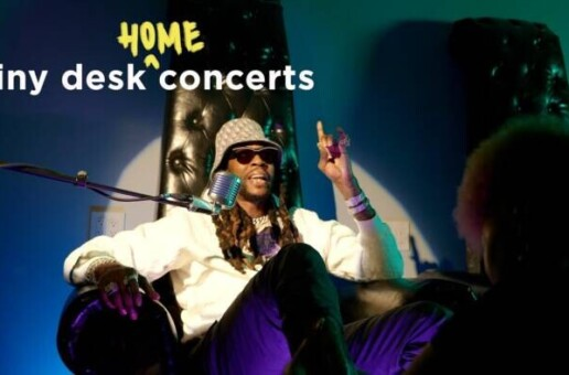 2 CHAINZ OFFERS UP HIS BEST' IN HIS TINY DESK (HOME) CONCERT