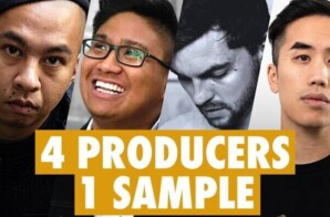 4 PRODUCERS FLIP THE SAME SAMPLE ft. Andrew Huang, !llmind, Simon Servida, and, The Kount