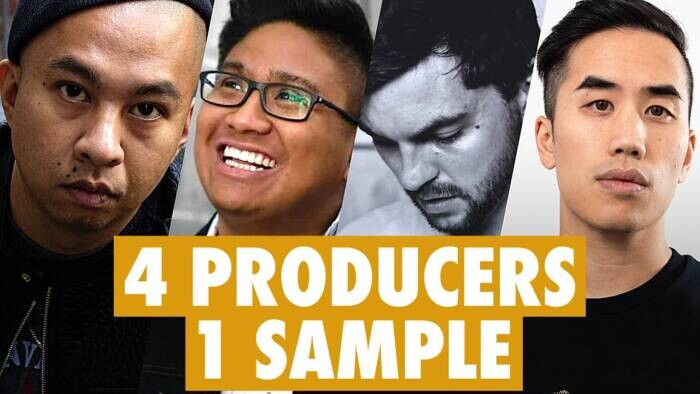 maxresdefault 4 PRODUCERS FLIP THE SAME SAMPLE ft. Andrew Huang, !llmind, Simon Servida, and, The Kount