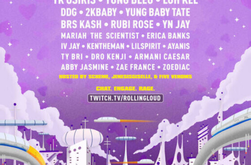 "Rolling Loud Releases Set Times for ""Loud Stream,"" Airing 6pm Tonight Exclusively on Twitch"