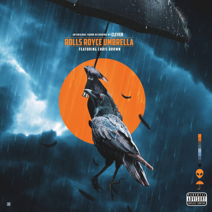 "unnamed-27 Clever links with Chris Brown for ""Rolls Royce Umbrella"""