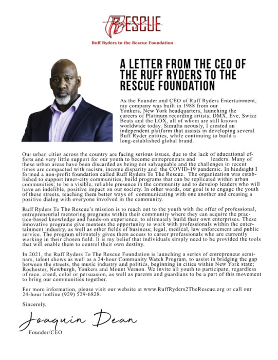 unnamed-3-4 A LETTER FROM THE CEO OF THE RUFF RYDERS TO THE RESCUE FOUNDATION