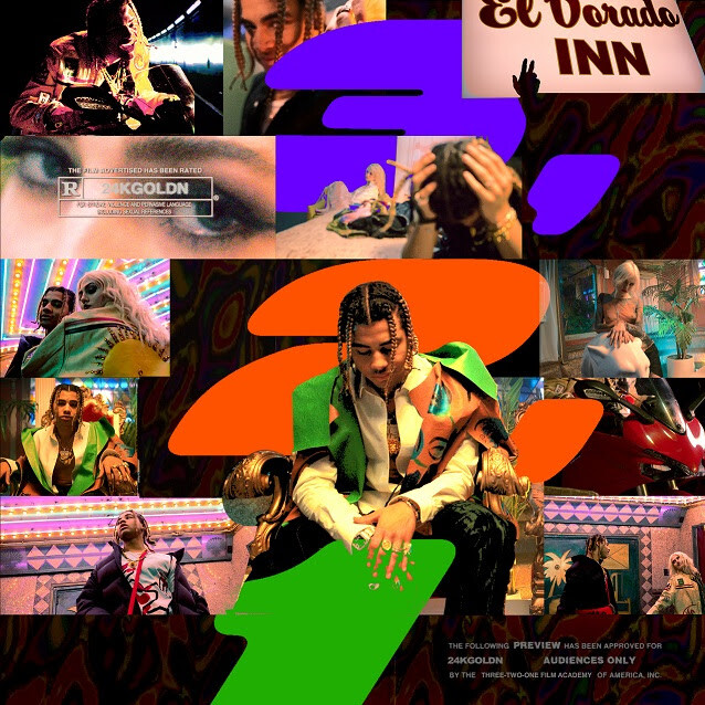 """unnamed-39 24KGOLDN UNVEILS NEW SINGLE AND VIDEO FOR """"3,2,1""""; DEBUT ALBUM 'EL DORADO' SET FOR RELEASE MARCH 26"""
