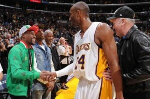 Floyd Mayweather Gifted Rare $15K Kobe Bryant & LeBron James Training Card!