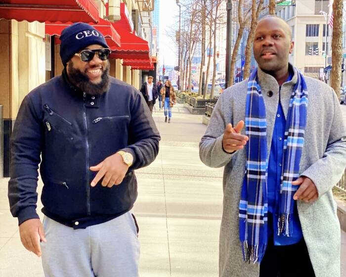 AK-left-Antoine-Sallis-right- Antoine Sallis Helps Legendary Rap Group Do or Die Rebuild Chicago