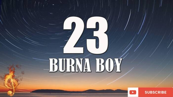 "maxresdefault Burna Boy Celebrates Women's Month With ""23"" Video Release!"