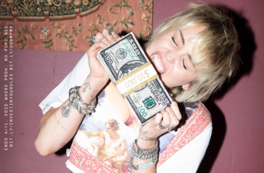 MILEY CYRUS PARTNERS WITH CASH APP TO GIVE AWAY $1 MILLION IN STOCKS TO FANS