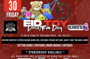 The First Annual Toy Drive and Day of Love